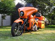 2008 - Harley-Davidson Street Glide Custom Orange
